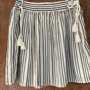 Old Navy Elastic Waste Skirt Medium